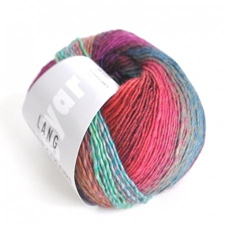Пряжа для вязания и рукоделия Mille Colori Baby (Lang Yarns) цвет 0053, 190 м