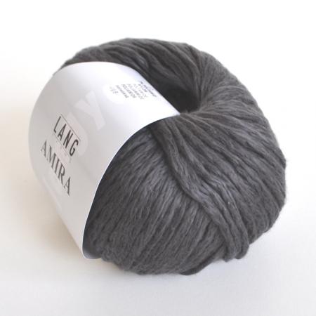 Пряжа для вязания и рукоделия Amira (Lang Yarns) цвет 0070, 100 м