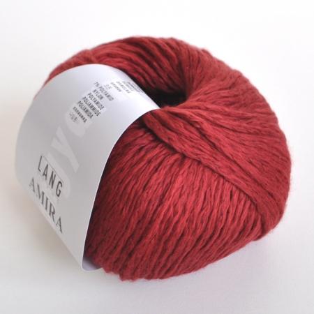 Пряжа для вязания и рукоделия Amira (Lang Yarns) цвет 0063, 100 м