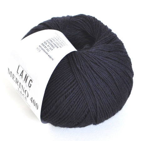 Пряжа для вязания и рукоделия Merino 400 Lace (Lang Yarns) цвет 0025, 200 м