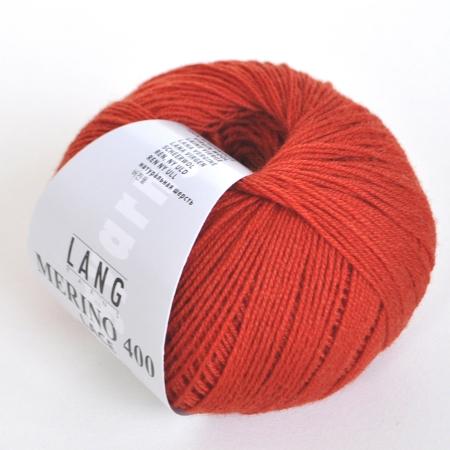 Пряжа для вязания и рукоделия Merino 400 Lace (Lang Yarns) цвет 0075, 200 м