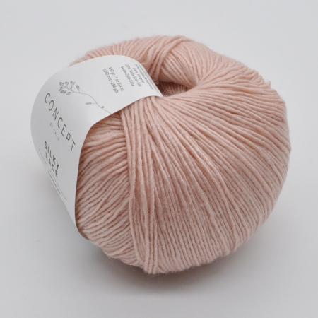 Пряжа для вязания и рукоделия Silky Lace (Katia) цвет 158, 260 м