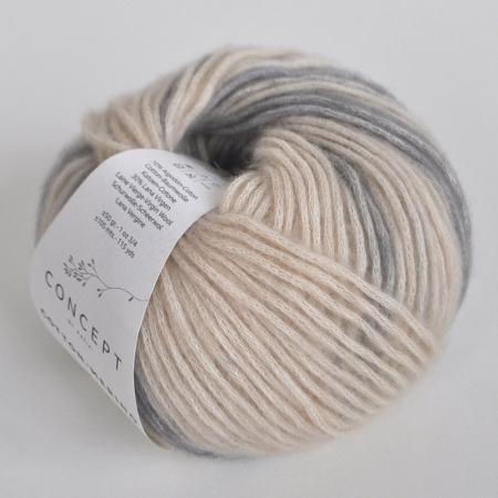Пряжа для вязания и рукоделия Cotton Merino (Katia) цвет 200, 105 м