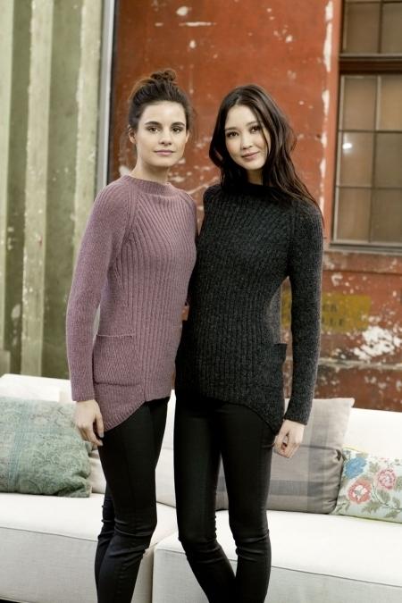 Пуловер из пряжи Lang Yarns Novena