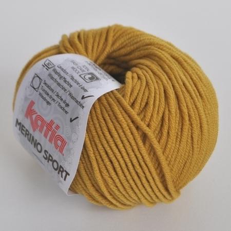 Пряжа для вязания и рукоделия Merino Sport (Katia) цвет 44, 80 м