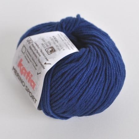 Пряжа для вязания и рукоделия Merino Sport (Katia) цвет 51, 80 м