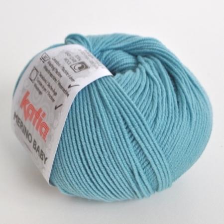 Пряжа для вязания и рукоделия Merino Baby (Katia) цвет 74, 165 м