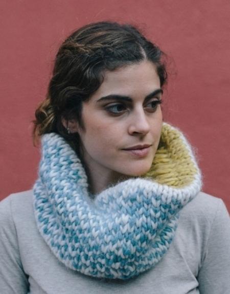 Снуд из пряжи Katia Love Wool