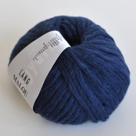 Пряжа для вязания и рукоделия Malou (Lang Yarns) цвет 0034, 65 м