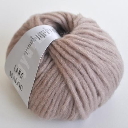Пряжа для вязания и рукоделия Malou (Lang Yarns) цвет 0096, 65 м