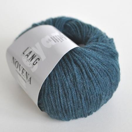 Пряжа для вязания и рукоделия Novena (Lang Yarns) цвет 0088, 110 м