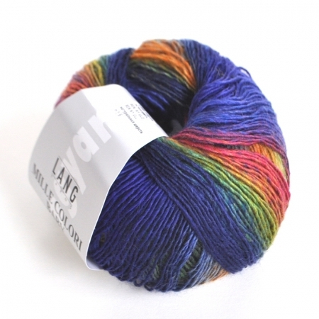 Пряжа для вязания и рукоделия Mille Colori Baby (Lang Yarns) цвет 0025, 190 м