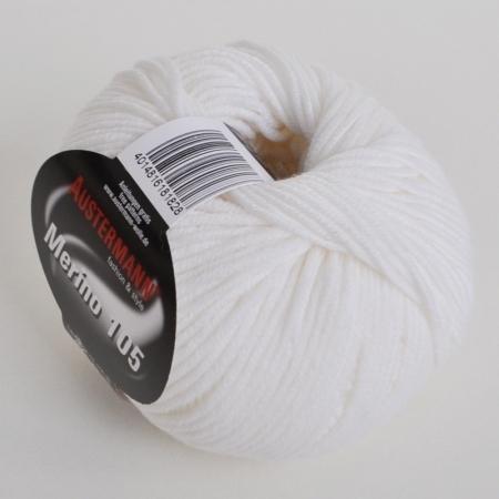 Пряжа для вязания и рукоделия Merino 105 (Austermann) цвет 301, 105