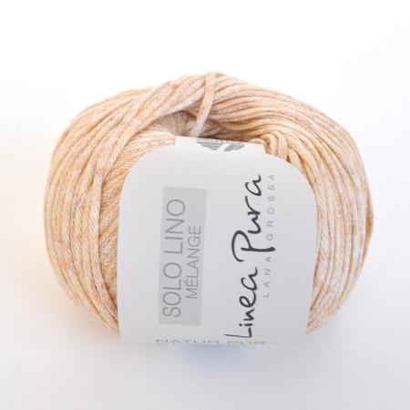 Пряжа для вязания и рукоделия Solo Lino Melange (Lana Grossa)