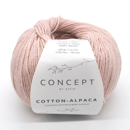 Пряжа Katia Cotton-Alpaca