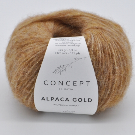 Пряжа для вязания и рукоделия Alpaca Gold (Katia)