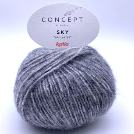 Пряжа для вязания и рукоделия Sky (Katia)