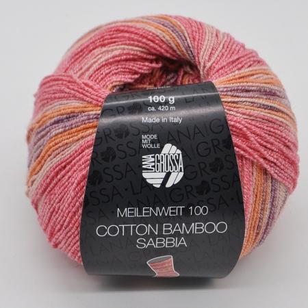 Lana Grossa Meilenweit 100 Cotton Bamboo Sabbia