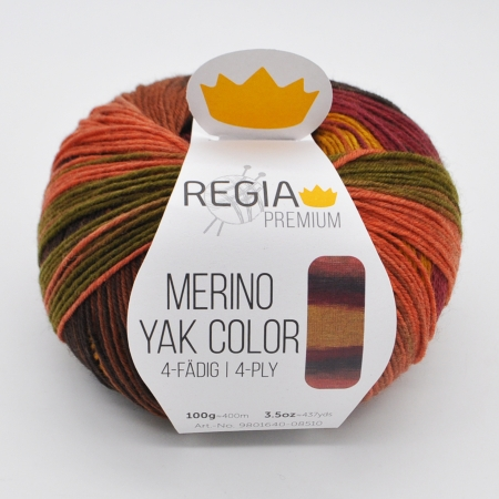 Regia Merino Yak Color