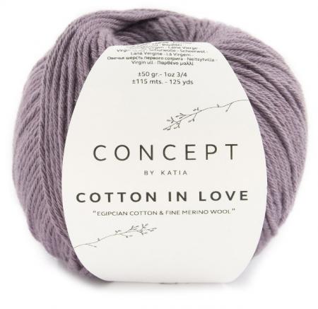 Пряжа для вязания и рукоделия Cotton in Love (Katia)
