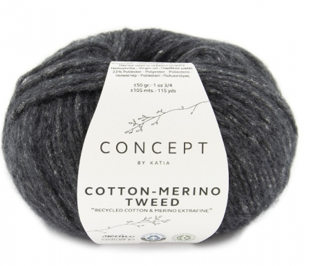 Пряжа для вязания и рукоделия Cotton Merino Tweed (Katia)
