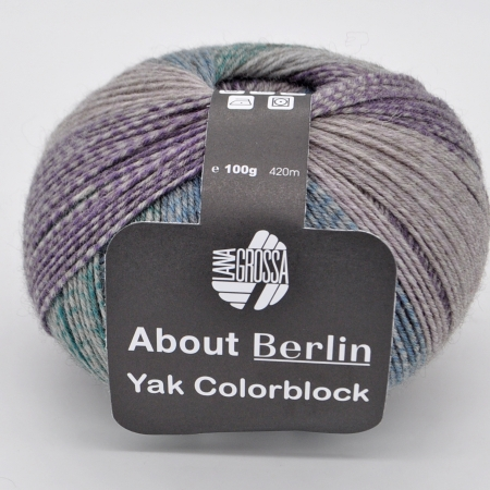 Lana Grossa About Berlin Yak Colorblock