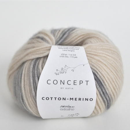 Пряжа Katia Cotton Merino